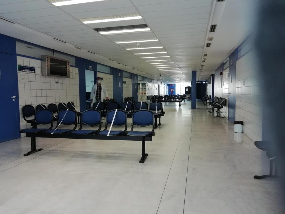 Centro de Salud vacio